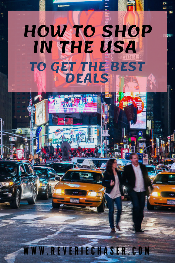 have you ever wanted to go shopping in America? This will be your guide for the cheapest prices for electronics, clothing and household items if you are visiting as a tourist
