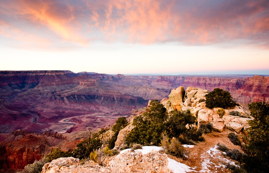 10 grand canyon sunset colors