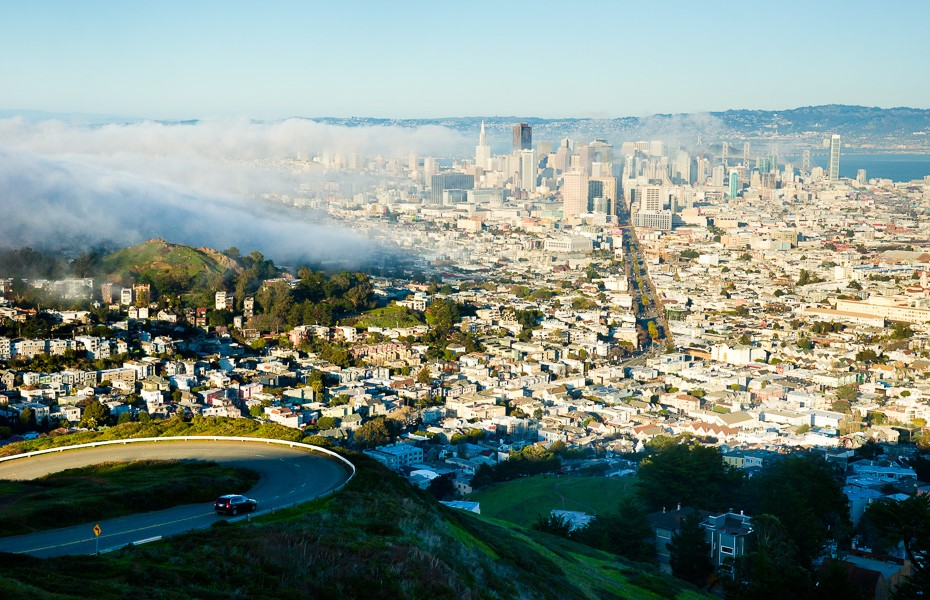 33 fog mist san francisco air climate change cold twin peaks