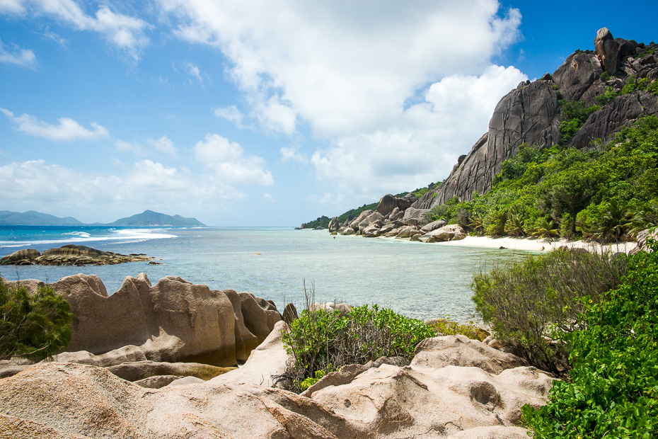anse marron seychelles beach paradise la digue walking jungle