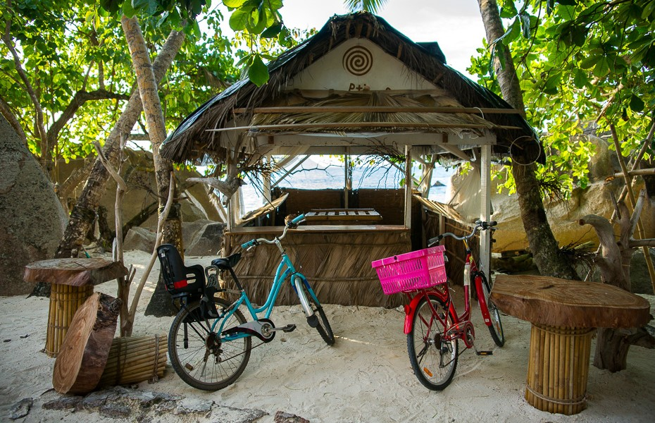 bicycles la digue seychelles rent