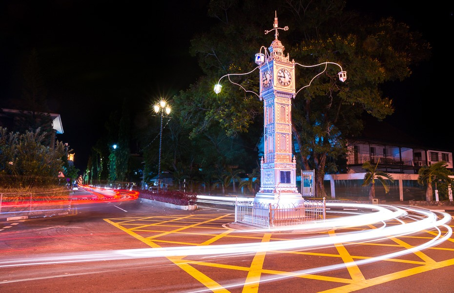 victoria mahe night capital seychelles