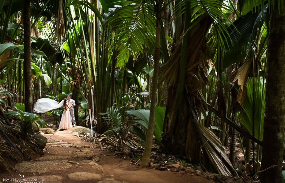 wedding paradise jungle seychelles praslin