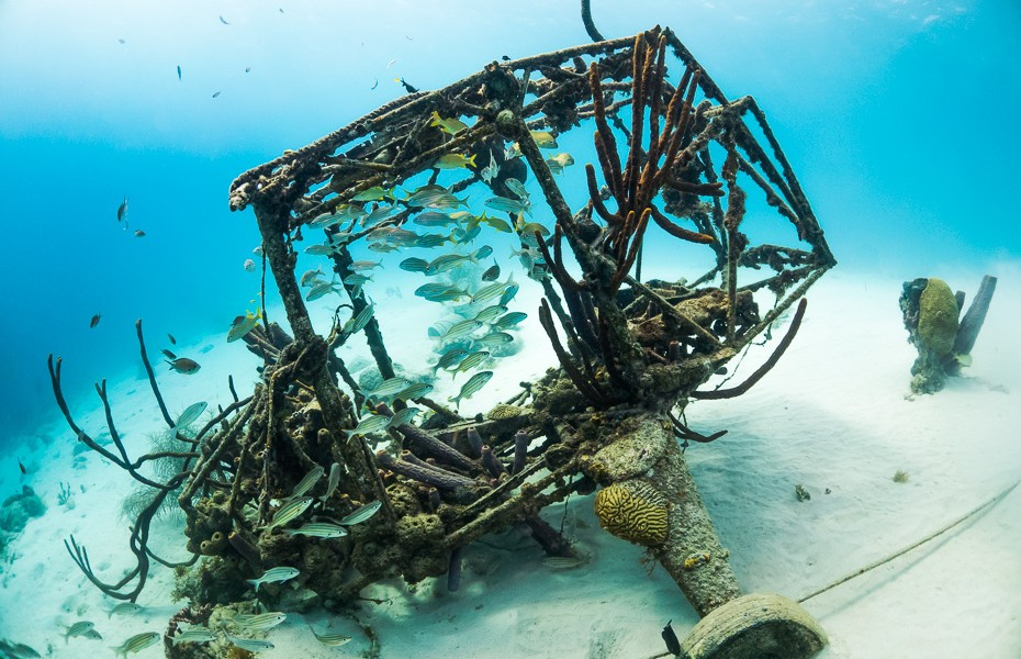 airplane wreck diving depth curacao