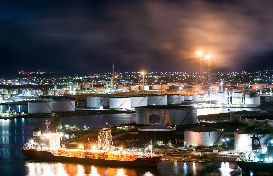 curacao oil refinery willemstad