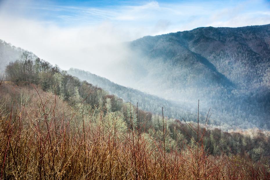 smokey mountains tennessee north carolina roadtrip usa america winter