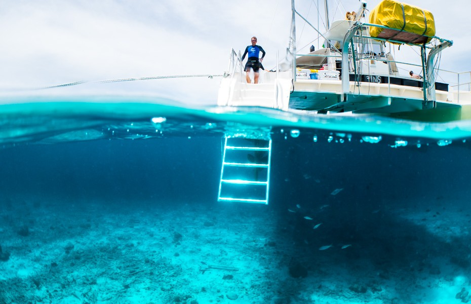 underwater diving padi curacao