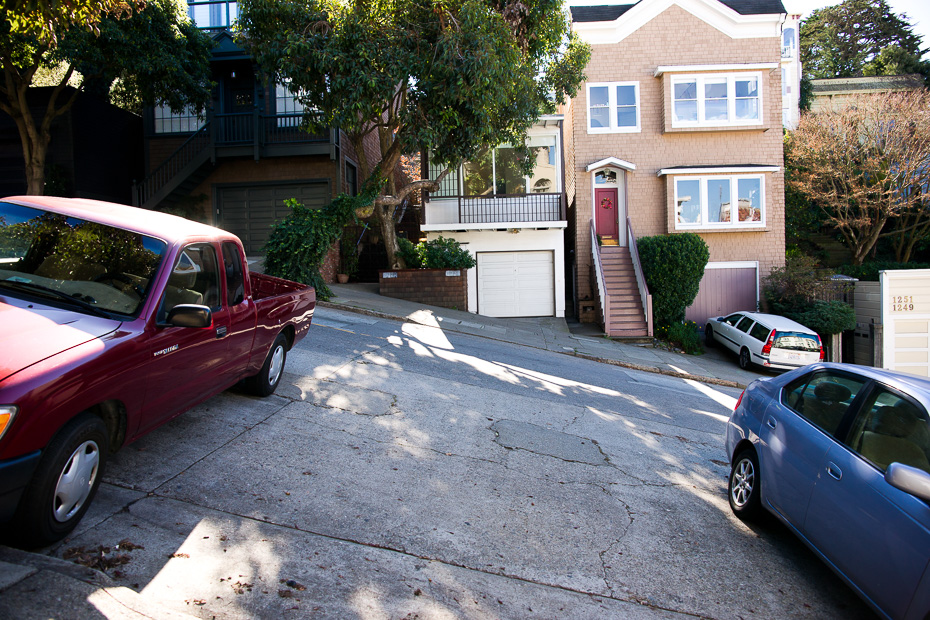 driving san francisco rental roads steep crazy
