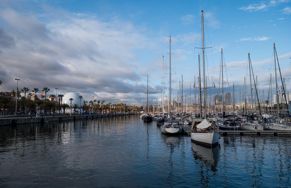 mediterrenian sea yacht barcelona