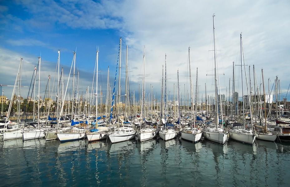 yacht barcelona sea