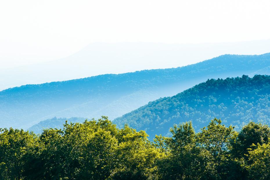 shenandoah mountains national park usa