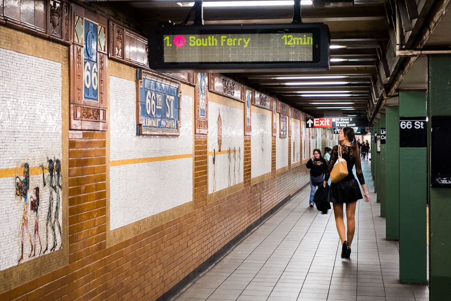 new york lincoln center usa opera house subway metro underground