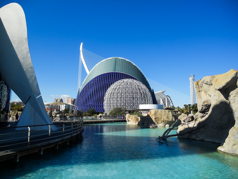 valencia spain architecture aquarium
