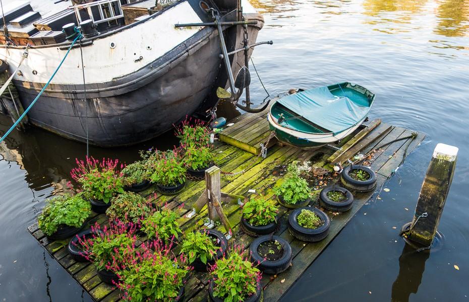 flowerpots amsterdam