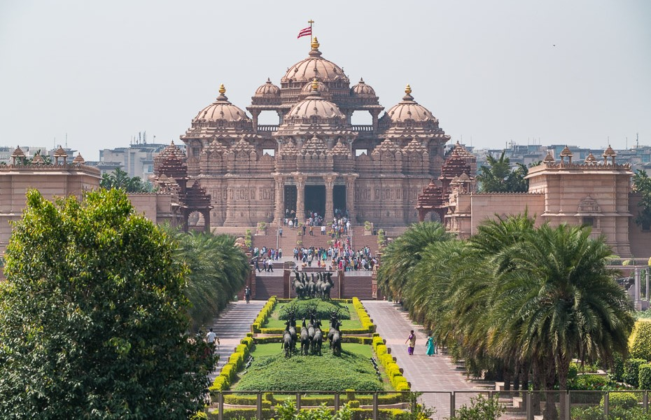 Swaminarayan Akshardham temple india delhi