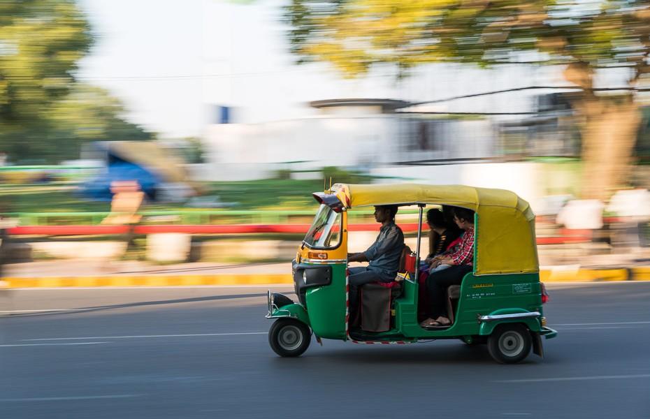 autorickshaw delhi india