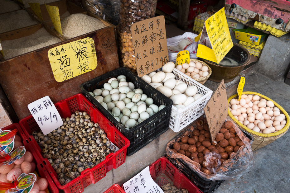 eggs chinese market
