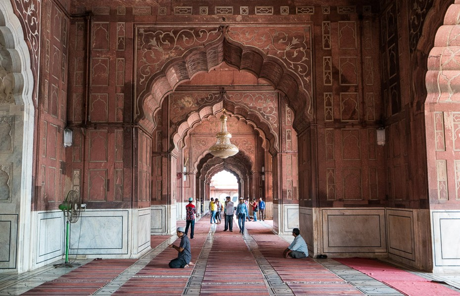 mosque india delhi