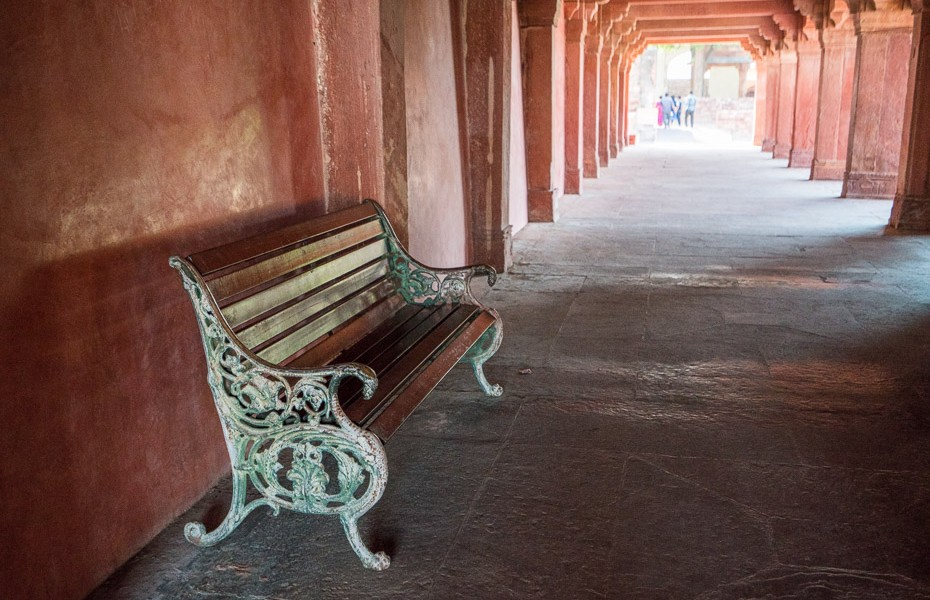agra bench india fatehpur sikri