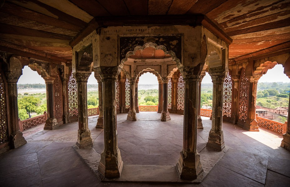 agra fort architecture india