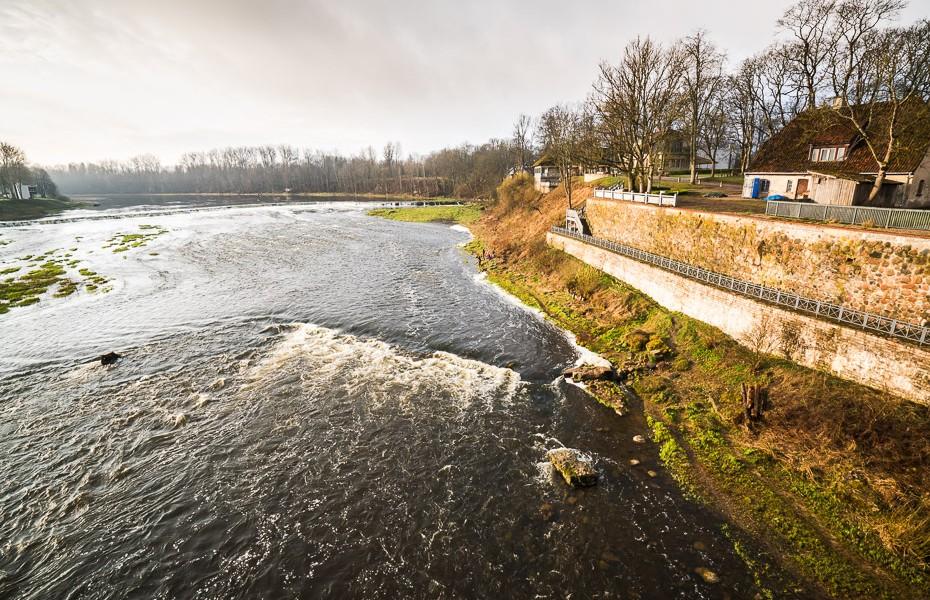kuldiga europe waterfall widest europe