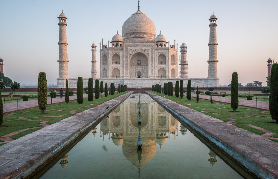 taj mahal architectural wonder
