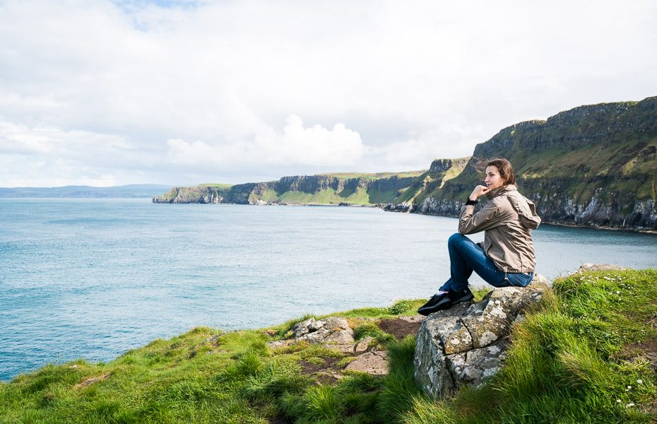 Alina Andrusaite carrick a rede ropeway northern ireland