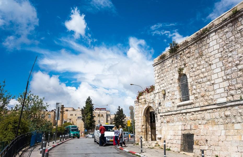 israel jerusalem streets