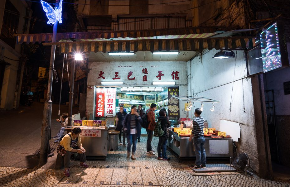 night street food macau