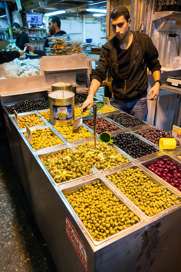 olives shukh jerusalem mahane yehuda
