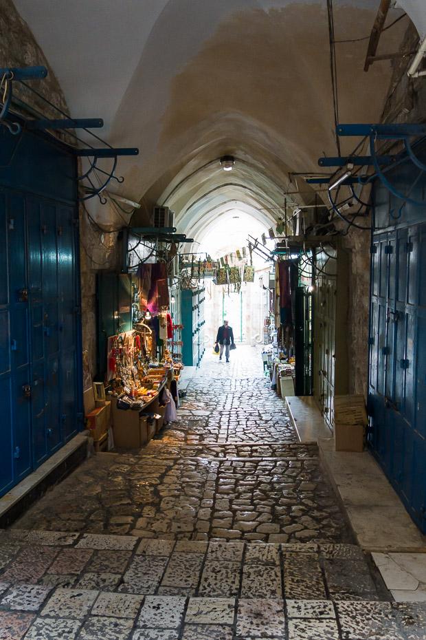 souvenirs alleys jerusalem old town