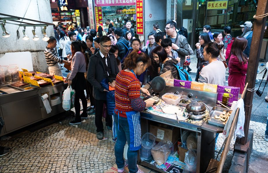 street food in macao