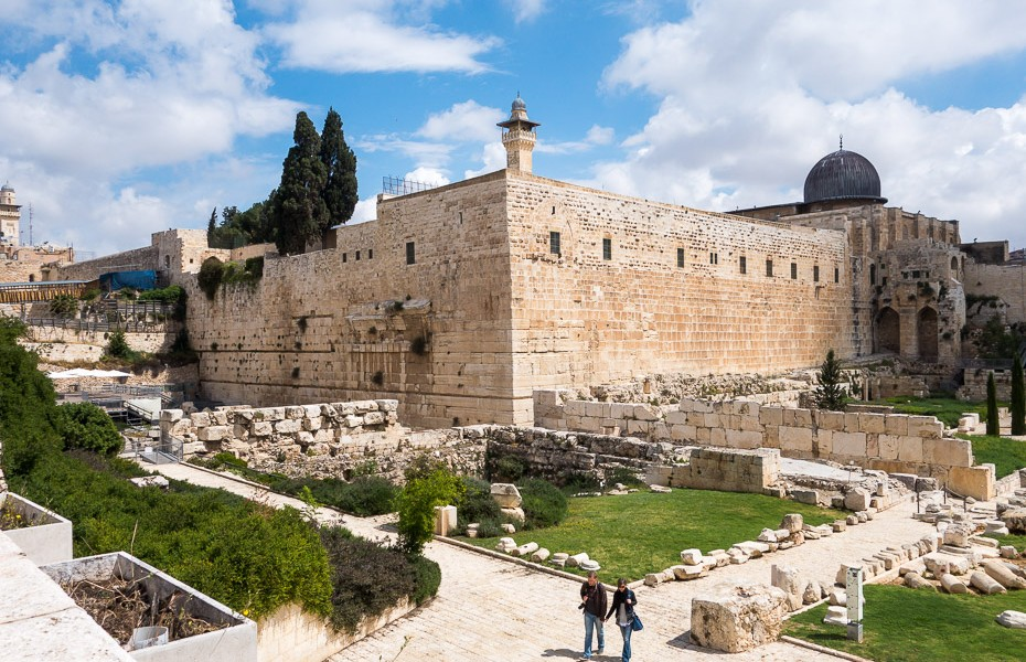 temple mount old town jerusalem