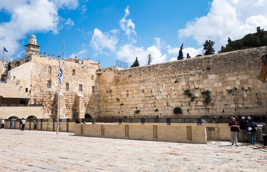western wailing wall israel jerusalem