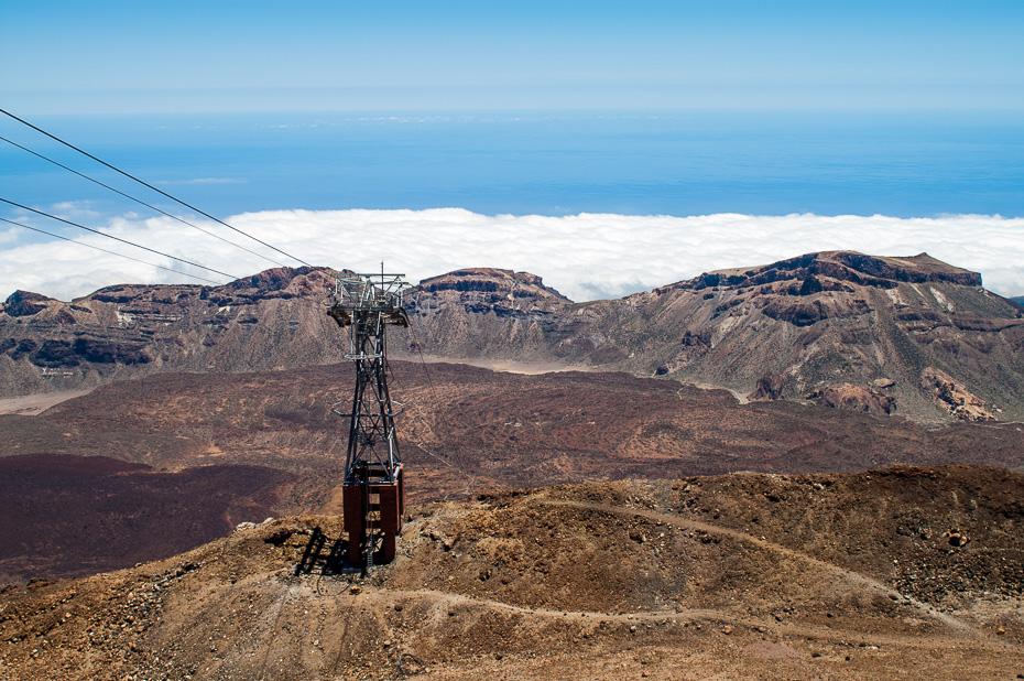 top of teide volcano