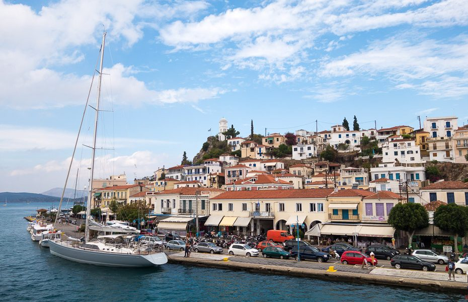Poros Islands Greece