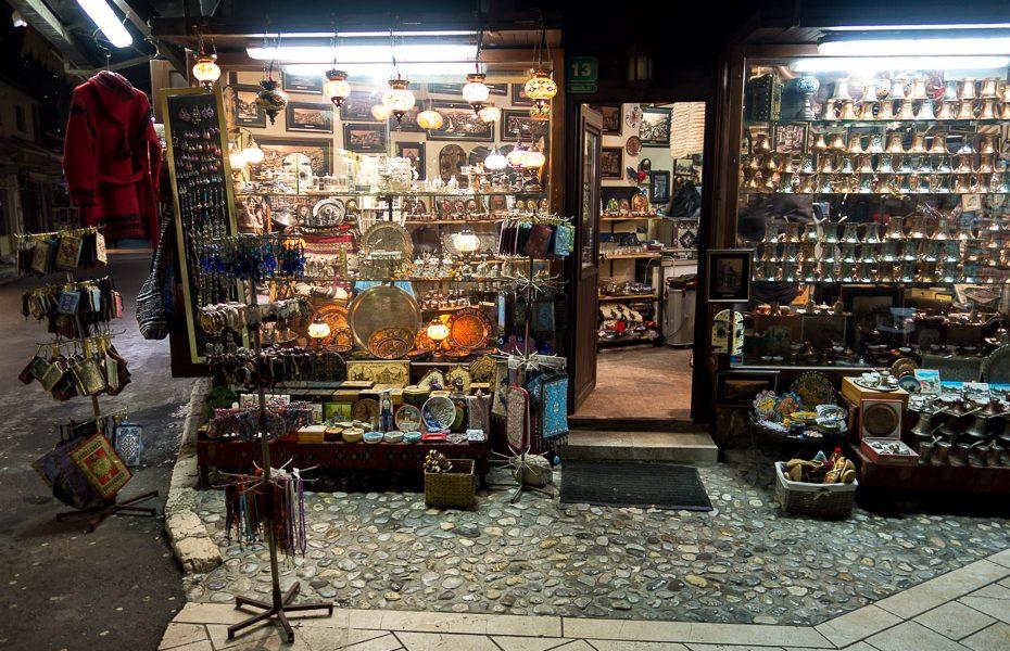 bascarcija market bosnia sarajevo