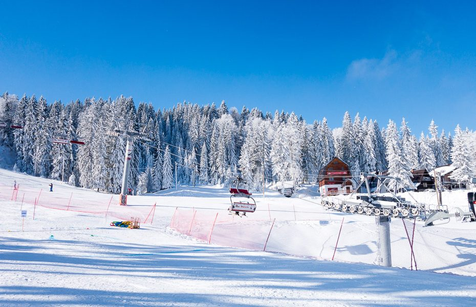 jahorina sarajevo bosnia skiing