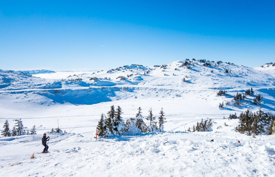 mountain skiing in bosnia and herzegovina