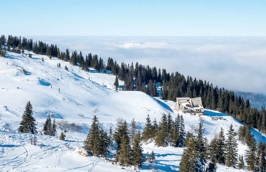 skiing and winter sports in jahorina