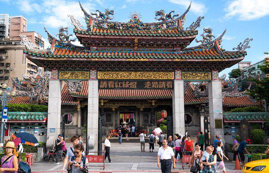 Lungshan temple Taipei