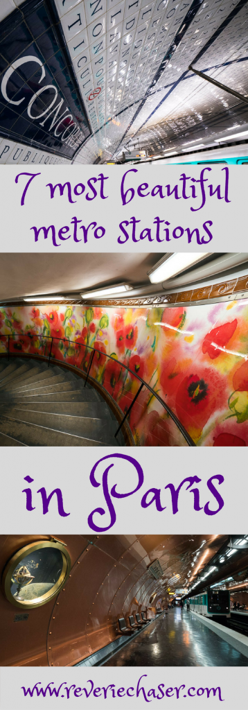 Most stunning metro stations in Paris