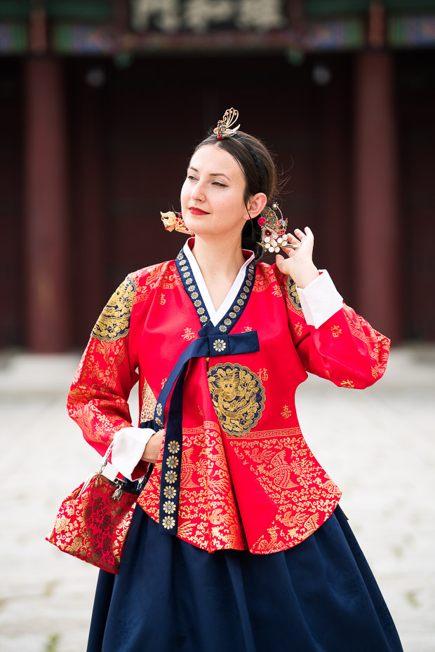 Hanbok Experience Wearing Traditional Korean Dress In Seoul As A