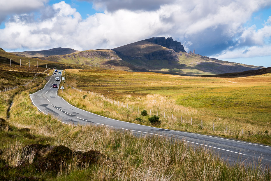 Campervans and driving conditions in Scotland