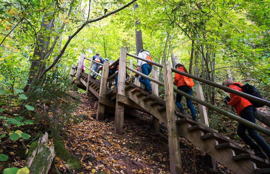 nature walks gauja national park latvia