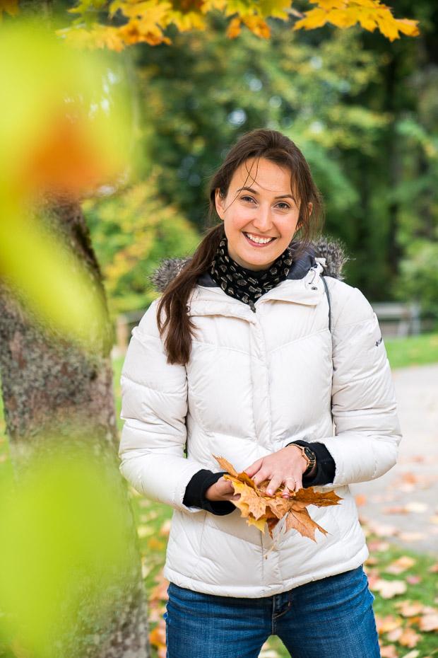 Alina Andrusaite autumn in Latvia