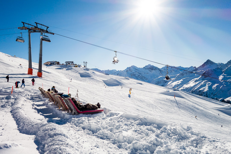 Ski lift prices in Davos