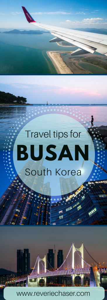 Check out this blog post for more information about Busan, the best places to visit, top attractions, locally known dishes, Buddhist temples and how to get around the city!