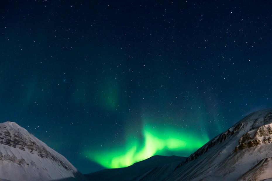 spitsbergen aurora