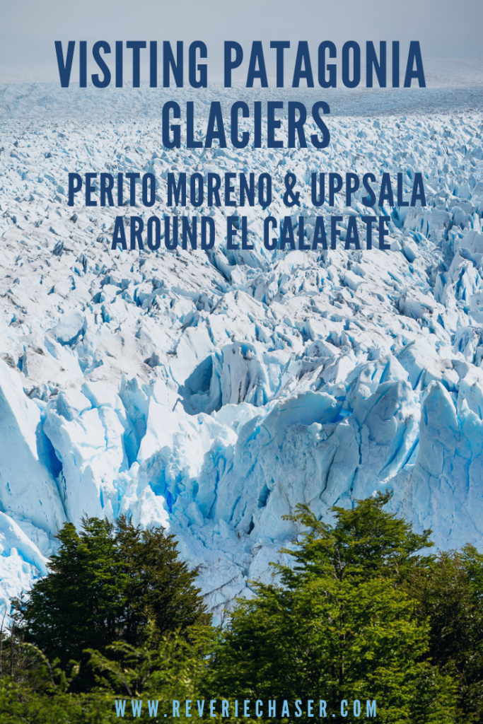 What you need to see in Patagonia - Perito Moreno and Uppsala glacier in national park near El Calafate